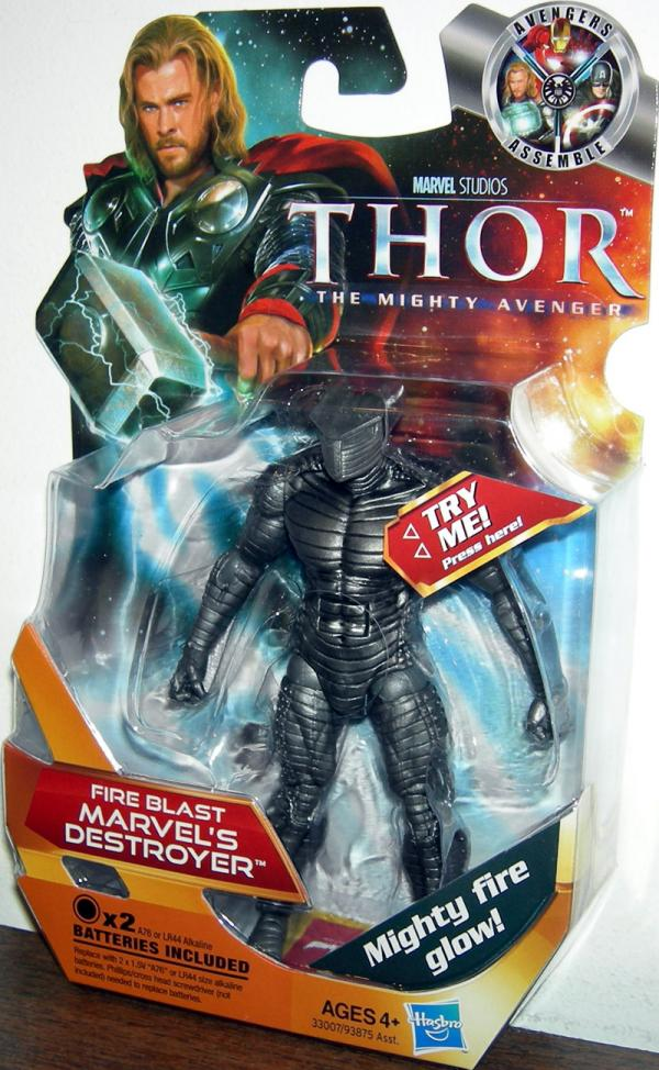 Fire Blast Marvels Destroyer 11 Thor action figure