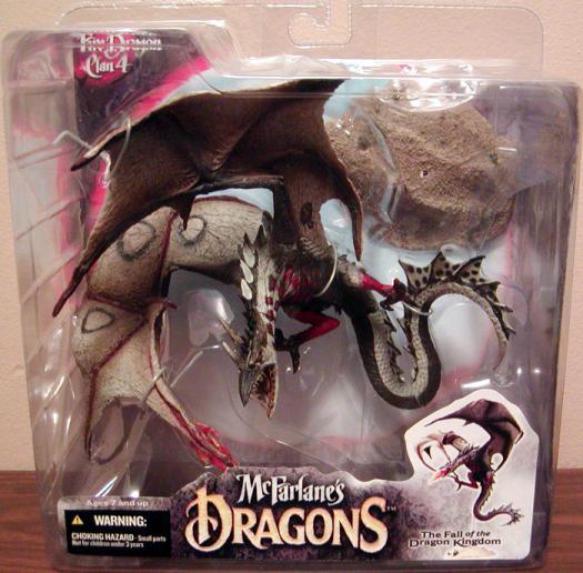 Fire Dragon Clan McFarlanes Dragons Series 4 action figure