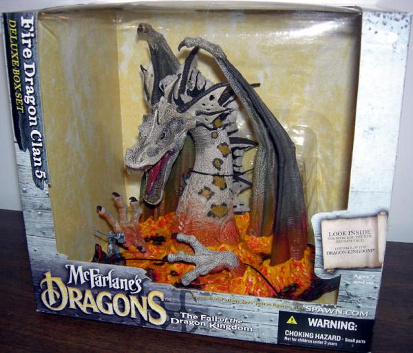 Fire Dragon Clan 5 Figure Deluxe Boxed Set McFarlane Toys
