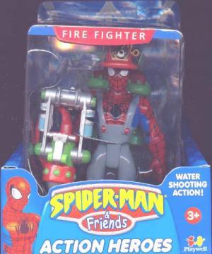 Fire Fighter Spider-Man