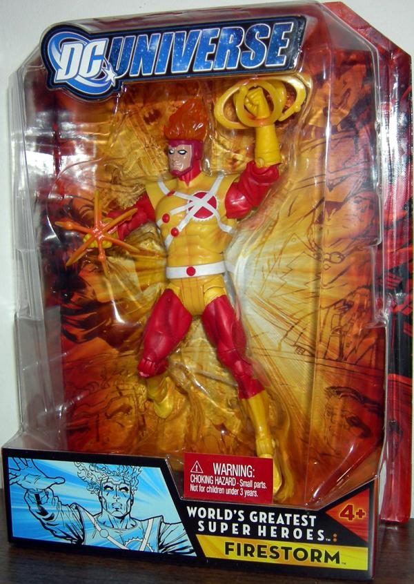 Firestorm Ronnie Raymond Worlds Greatest Super Heroes action figure