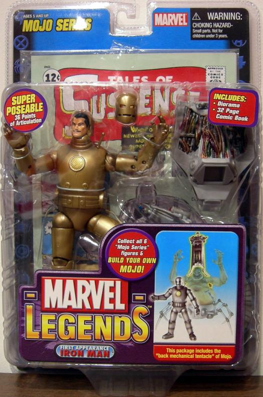 First Appearance Iron Man Marvel Legends, variant