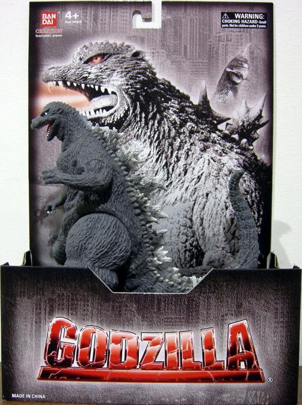 First Godzilla action figure