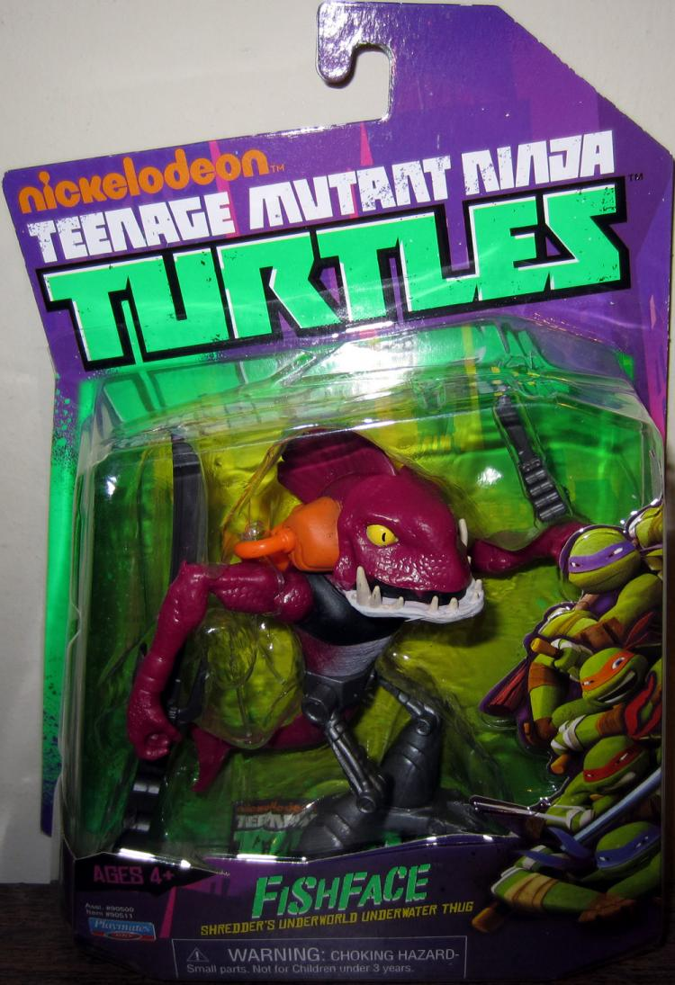 Fishface Action Figure Nickelodeon Teenage Mutant Ninja Turtles