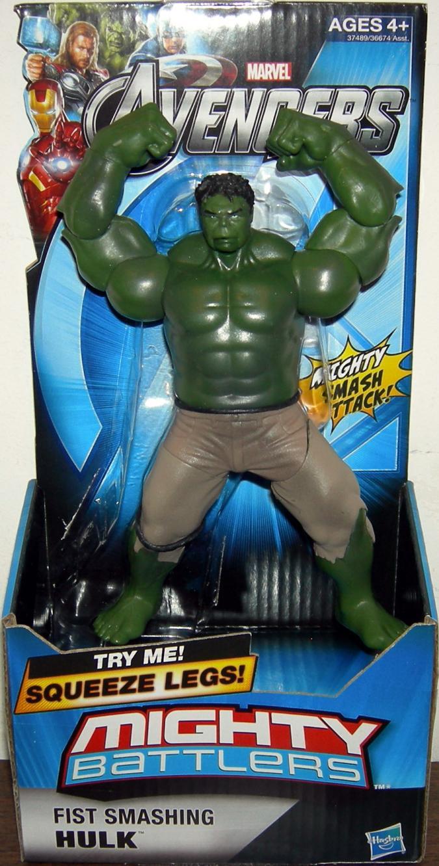Fist Smashing Hulk Avengers