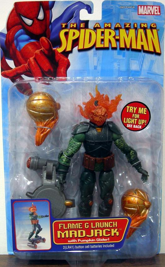 Flame Launch Madjack Amazing Spider-Man action figure