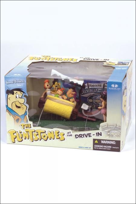 The Flinstones drive-in deluxe boxed set