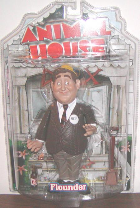 Flounder Action Figure Animal House Mezco