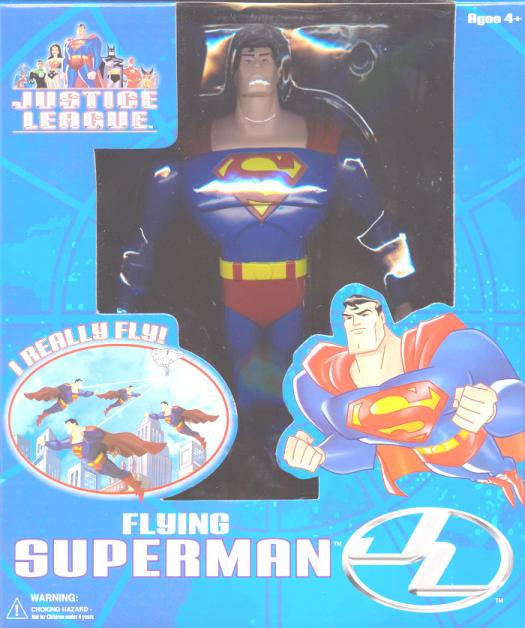 Flying Superman Justice League action figure