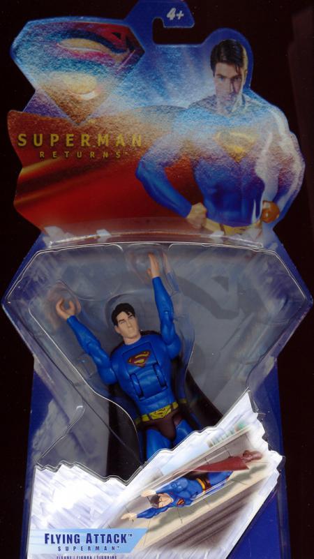 Flying Attack Superman Figure Returns Movie