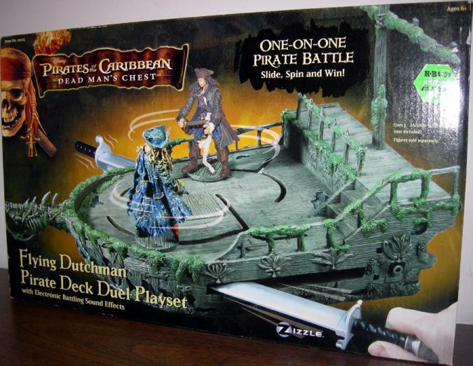 Flying Dutchman Pirate Deck Duel Playset