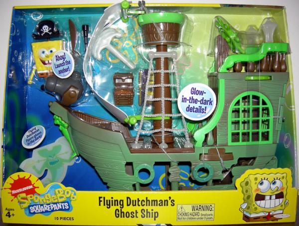 Flying Dutchmans Ghost Ship Spongebob Squarepants
