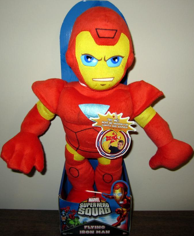 15 inch Flying Iron Man Super Hero Squad plush