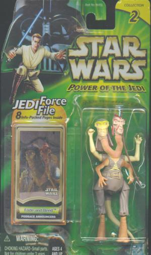 Fode Beed Figures Star Wars Power Jedi Collection 2