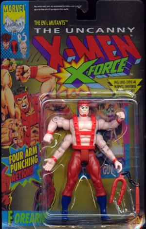 Forearm Action Figure X-Men X-Force Four Arm Punching Action