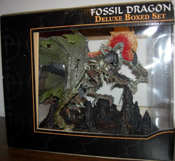 Fossil Dragon Clan Figure Deluxe Boxed Set McFarlane Toys