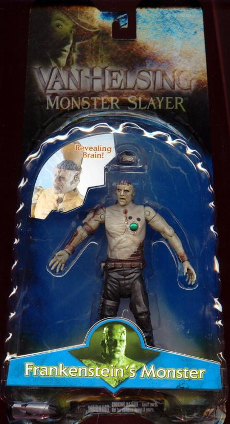 Frankensteins Monster Action Figure Revealing Brain Van Helsing