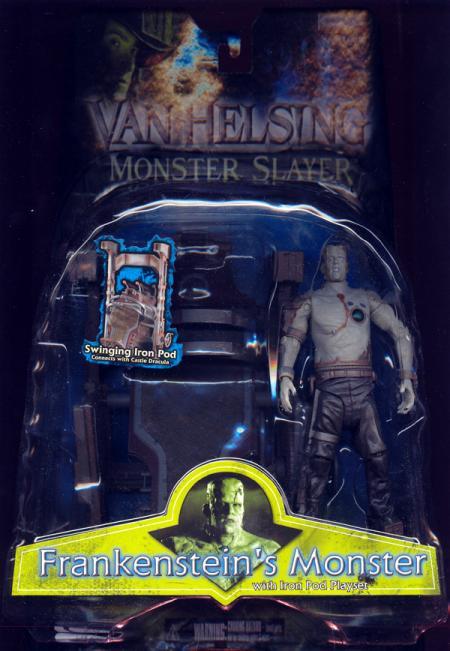 Frankensteins Monster Iron Pod Playset Van Helsing action figure