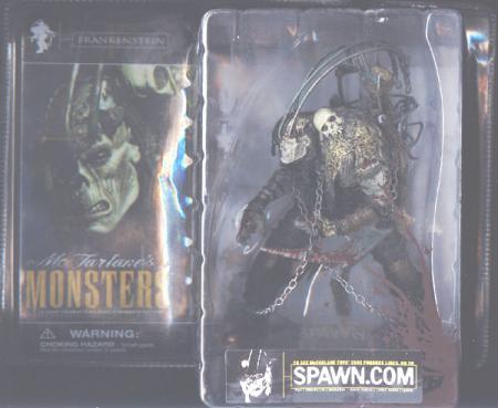 Frankenstein bloody package