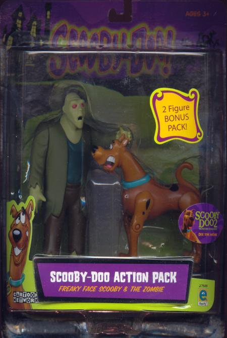 Freaky Face Scooby Zombie Figures Scooby-Doo Action Pack Equity