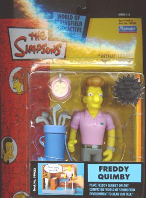 Freddy Quimby Action Figure Simpsons Series 13 Playmates