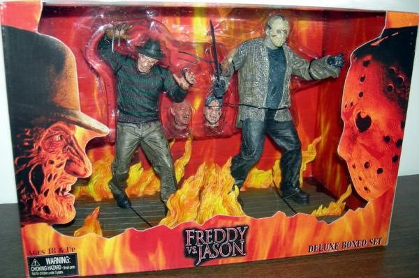 Freddy vs Jason Figures Deluxe Boxed Set