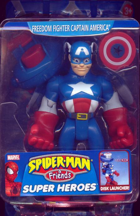 Freedom Fighter Captain America