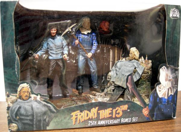 Friday the 13th 25th Anniversary Boxed Set Action Figures Neca