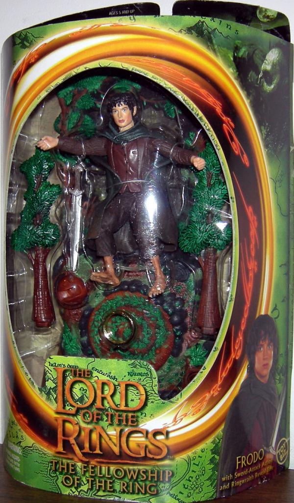 Frodo Figure Lord Rings Fellowship Ring Toy Biz