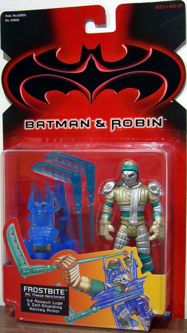 Frostbite Batman Robin Movie action figure
