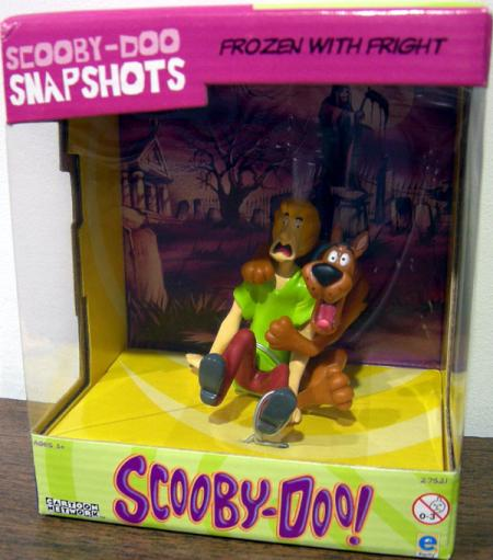 Frozen Fright Scooby-Doo Snapshots 2-Pack action figures