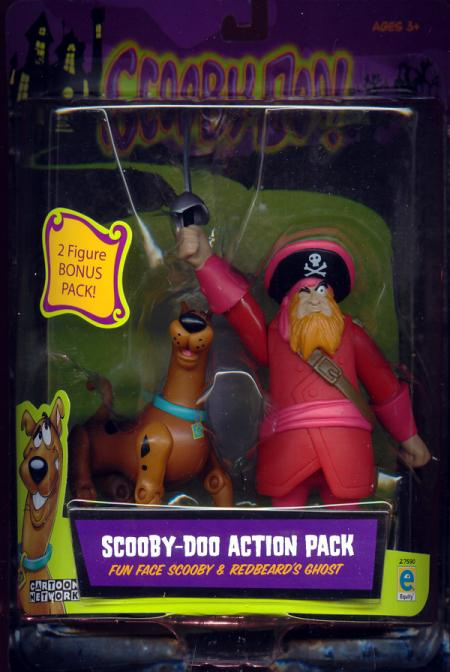 Fun Face Scooby Redbeards Ghost 2-Pack