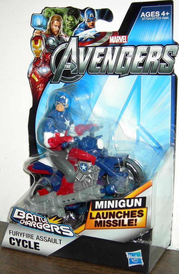 Furyfire Assault Cycle Avengers, Battle Chargers