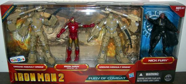 Fury Combat 4-Pack