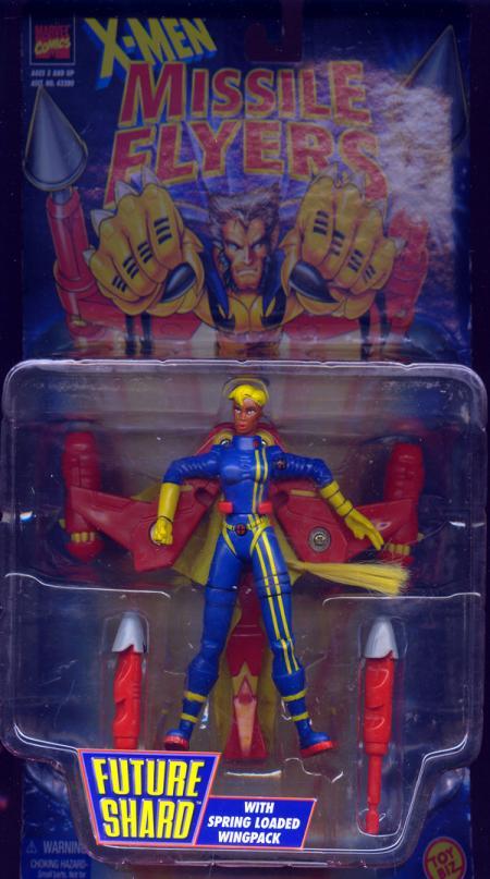 Future Shard Figure X-Men Missile Flyers Toy Biz