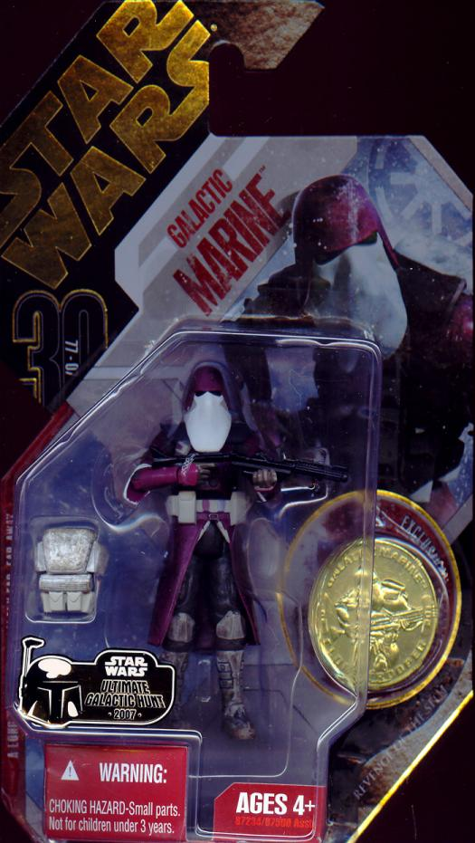 Galactic Marine Figure Ultimate Galactic Hunt Star Wars Revenge Sith