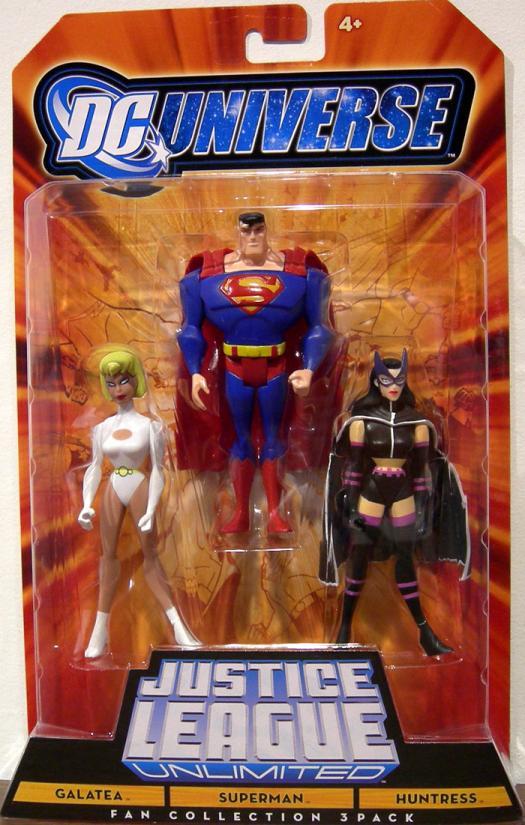 Galatea Superman Huntress Fan Collection DC Universe JLU action figure