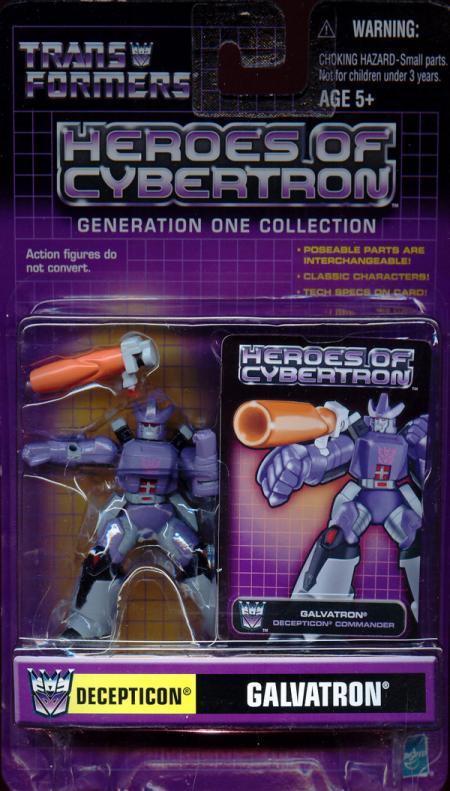 Galvatron Heroes Cybertron