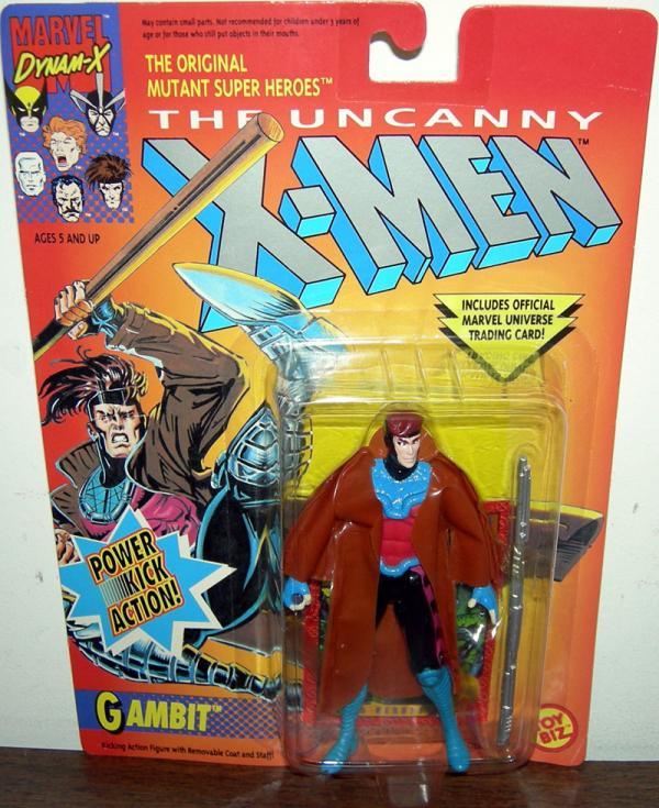 Gambit Power Kick Action X-Men figure