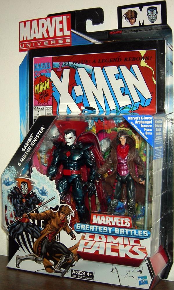 Gambit Mister Sinister Marvel Universe