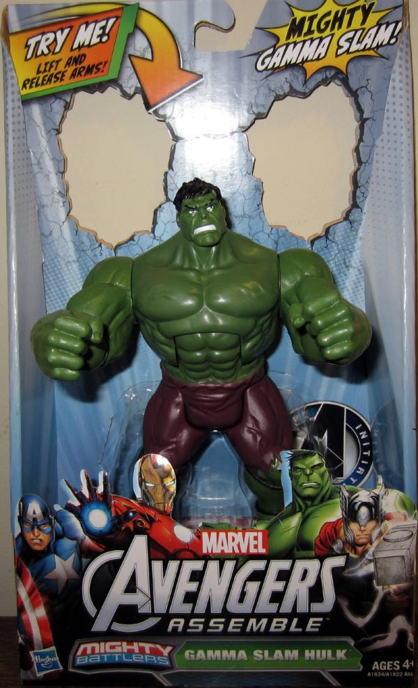Gamma Slam Hulk Avengers Assemble action figure