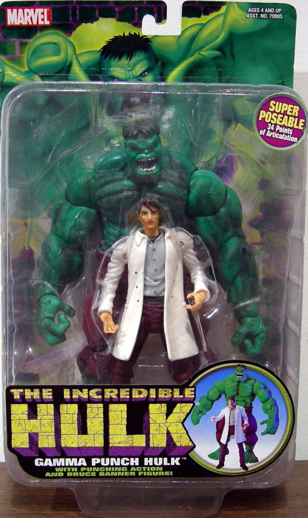 Gamma Punch Hulk Action Figure Toy Biz