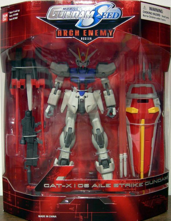 GAT-X105 Aile Strike Gundam 7 1-2 inch Arch Enemy