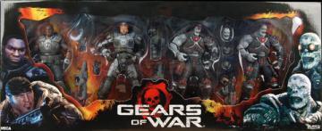 Gears War 4-Pack Box Set series 1