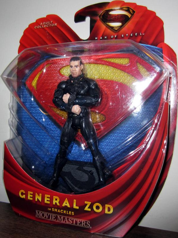General Zod Shackles Superman Man Steel action figure