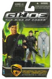 General Clayton Hawk Abernathy - Attack GI Joe Pit Rise Cobra action figure