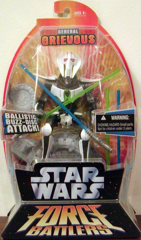 General Grievous Force Battlers 2 Star Wars action figure