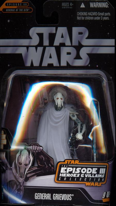 General Grievous Episode III Heroes Villains Collection, 9 12