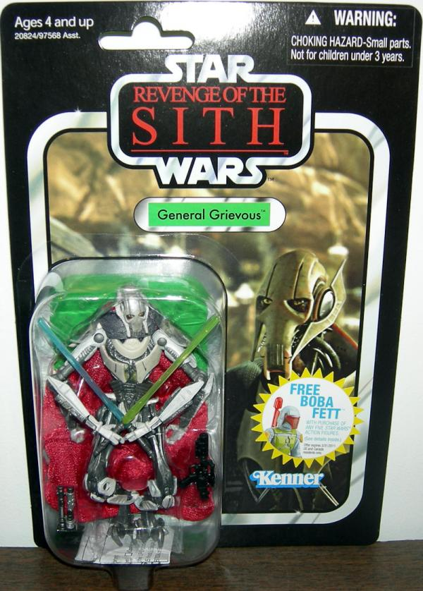 General Grievous VC17 Action Figure Star Wars Hasbro