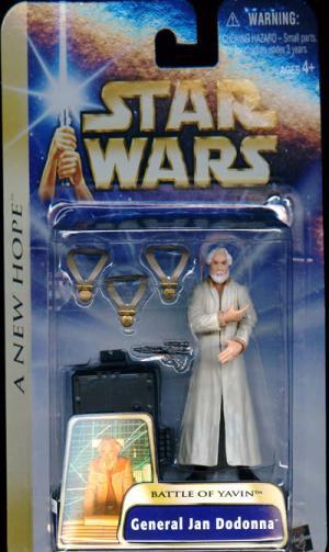 General Jan Dodonna Battle Yavin Star Wars New Hope action figure